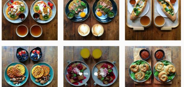 Instagram'da simetri hastası bir kahvaltı adamı: Michael Zee