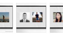 LinkedIn ve Tinder profil fotoğraflarını yan yana getiren sanatçı