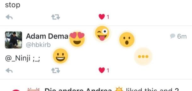 Twitter, kalplere ek olarak yeni emojileri test ediyor