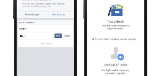 Facebook, sevgilisinden ayrılanlar için yeni özelliğini tanıttı