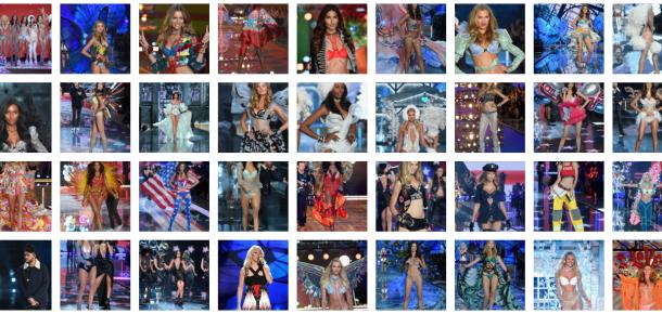 37 sosyal medya paylaşımıyla nefes kesen Victoria's Secret defilesi