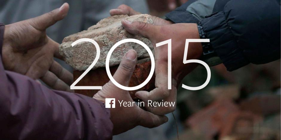 Facebook'un 2015 yılı için öne çıkardığı 50 popüler şey