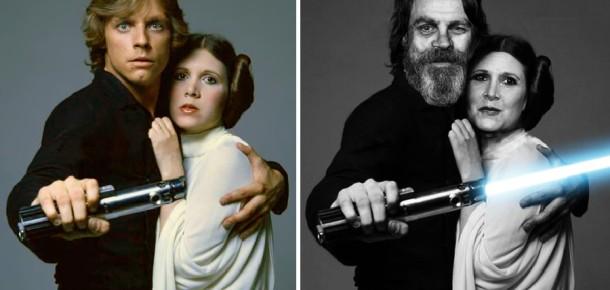 Star Wars oyuncularının şimdiki ve önceki halleri