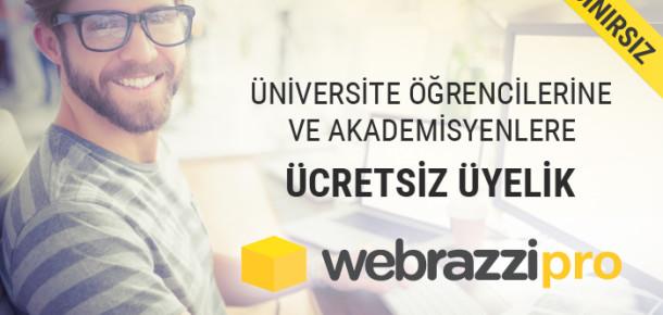 Webrazzi PRO artık üniversite öğrencilerine ve akademisyenlere ücretsiz