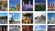 Facebook verilerine göre 2015 yılında en çok ziyaret edilen yerler