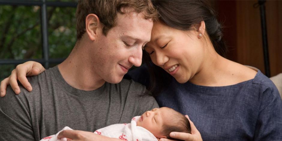 Kızı olan Mark Zuckerberg'den 45 milyar dolar değerinde bağış