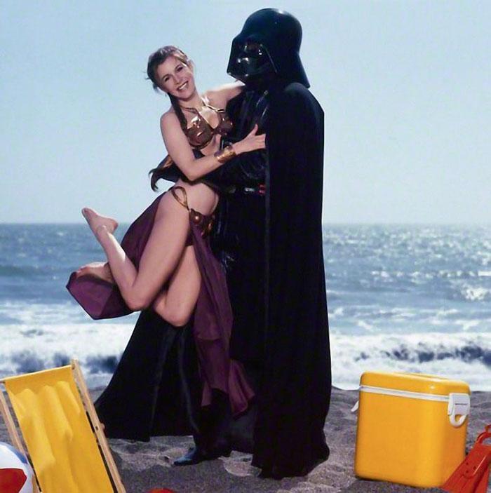 princess-leia-bikini-return-jedi-beach-shoot-1983-carrie-fisher-14
