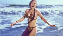 """1983'te Carrie Fisher """"Return Of The Jedi"""" yı tanıtırken çekilmiş 8 eski fotoğraf"""