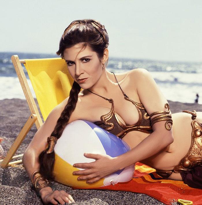 princess-leia-bikini-return-jedi-beach-shoot-1983-carrie-fisher-4