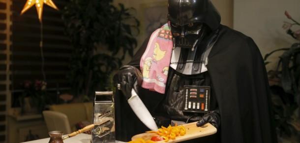 Hayatını Darth Vader olarak yaşayan adam