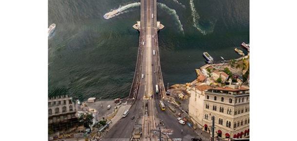 İstanbul'a Inception gözüyle baktıran sanatçı: Aydın Büyüktaş