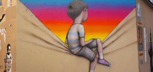 Fransız sokak sanatçısından farklı bir kentsel dönüşüm