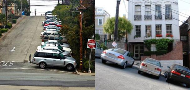 Photoshop zannedeceğiniz yok artık dedirten eğime sahip sokaklar