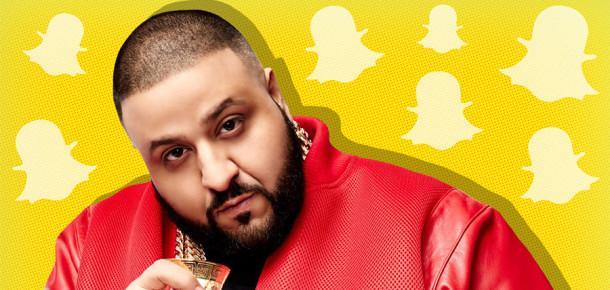 Ünlüler için başarılı Snapchat kullanımı: DJ Khaled
