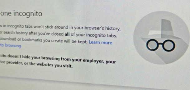 Chrome tarayıcısının gizli modu düşündüğünüz kadar gizli olmayabilir