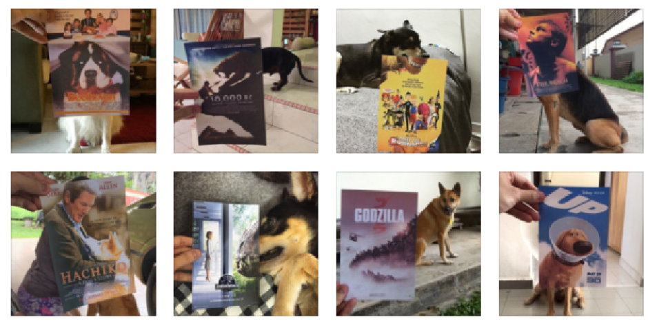 Ünlü film posterlerini köpeklerle kombin eden Instagram kullanıcısı