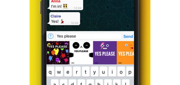 Mesajlarınızı kişiselleştiren mobil uygulama