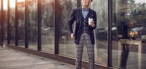Çin'in 85 yaşındaki en stil sahibi dedesi