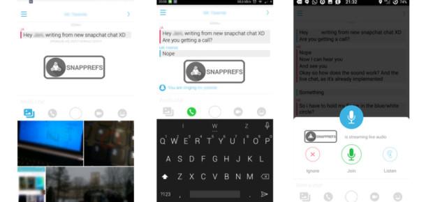 Snapchat'e video sohbet özelliği geliyor