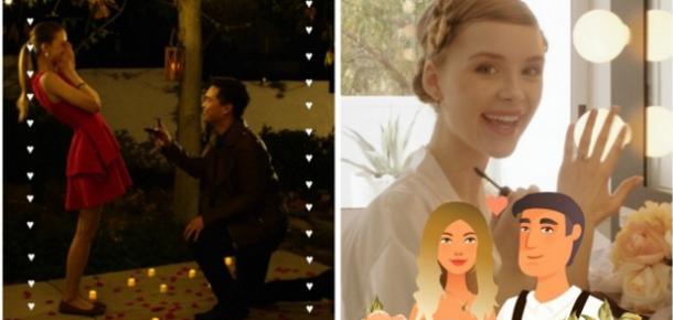 Snapchat'te artık parti ve düğünler için kendi filtrenizi hazırlayabileyeceksiniz