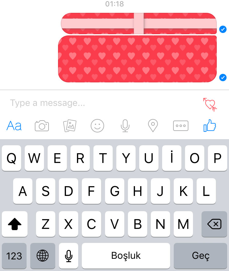 facebook-hediye-paketi-mesaj