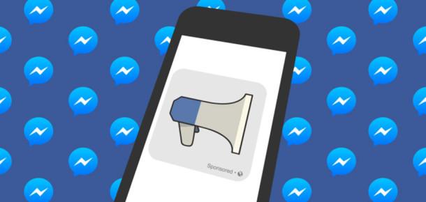 Facebook, Messenger'a reklamlar geliyor