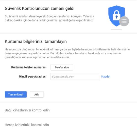 google-guvenlik-kontrolu