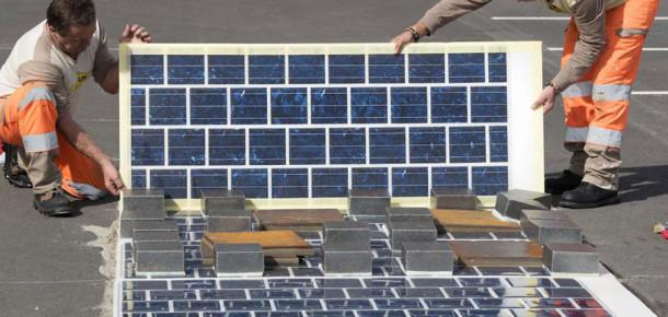 Fransa, 1.000 kilometrelik güneş paneli döşenmiş yol açıyor