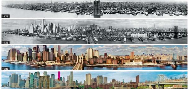 Tanınamayacak halde değişen 18 müthiş şehir