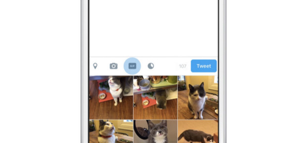 """Twitter'dan paylaşımlarınız için hızlı """"Gif"""" ekleme butonu"""