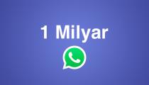 WhatsApp 1 milyar kullanıcıya ulaştı