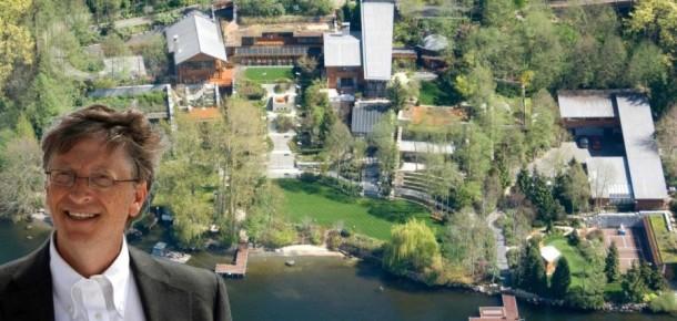 Bill Gates'in 123 milyon dolarlık malikanesi hakkında 19 ilginç bilgi