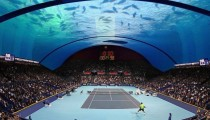 Dünyanın ilk su altı tenis kortu Dubai'de inşa edilecek