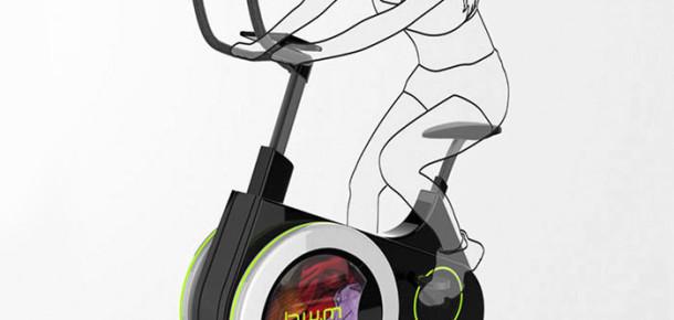 Evde egzersiz yaparken çamaşır yıkamanızı sağlayan sabit bisiklet