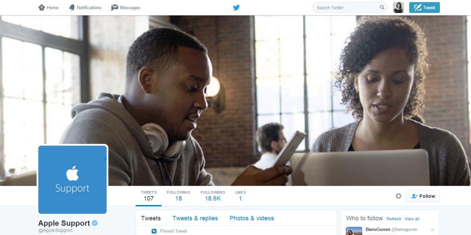 Apple Twitter'da nihayet hesabını açtı