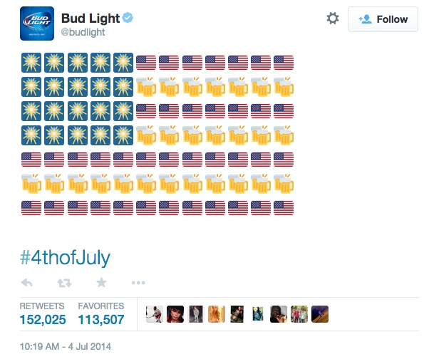 bud-light-emoji-tweet