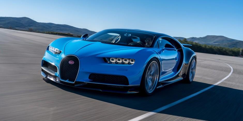 Bugatti'nin 2.6 milyon dolarlık yeni modeli göz kamaştırıyor