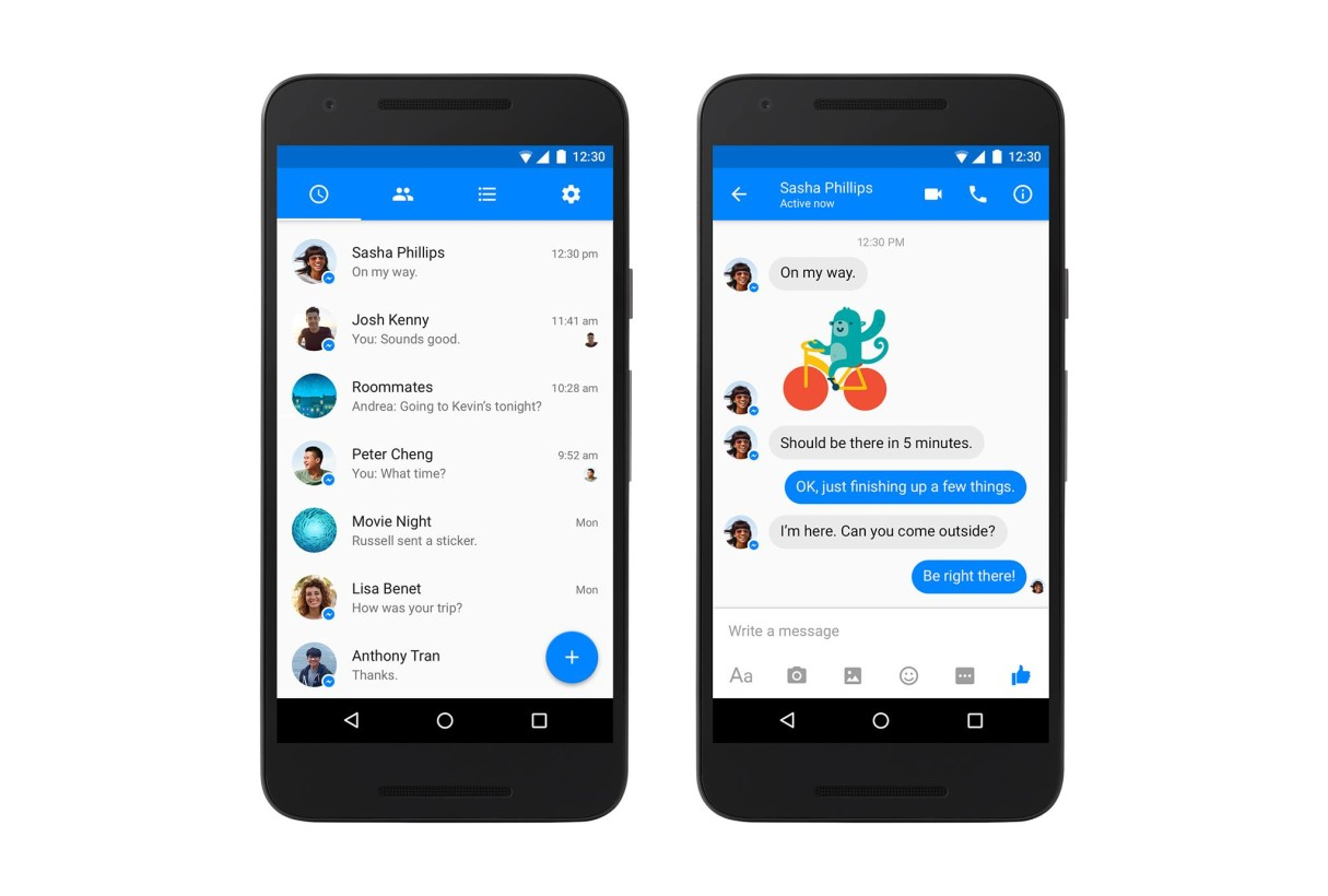facebook messenger new
