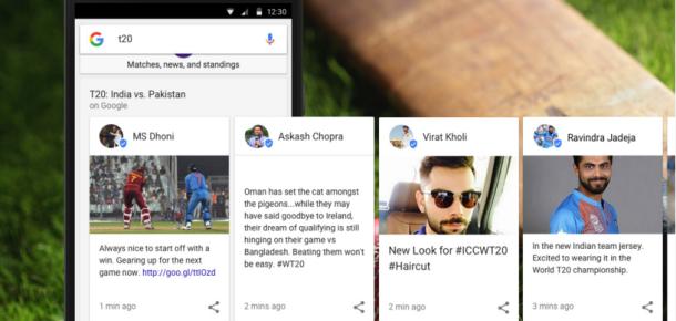 Google, arama sonuçlarında canlı spor yorumunu test ediyor
