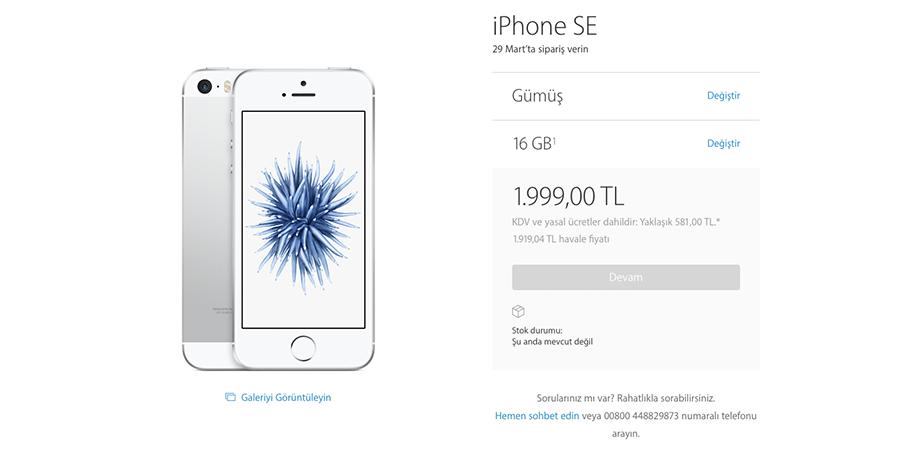 iphone-se-turkiye-fiyati