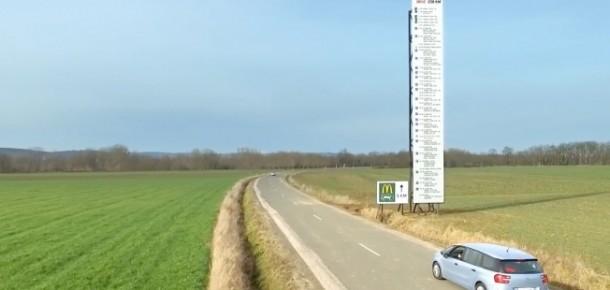 Fransa'da Burger King ve McDonalds'ın reklam savaşları