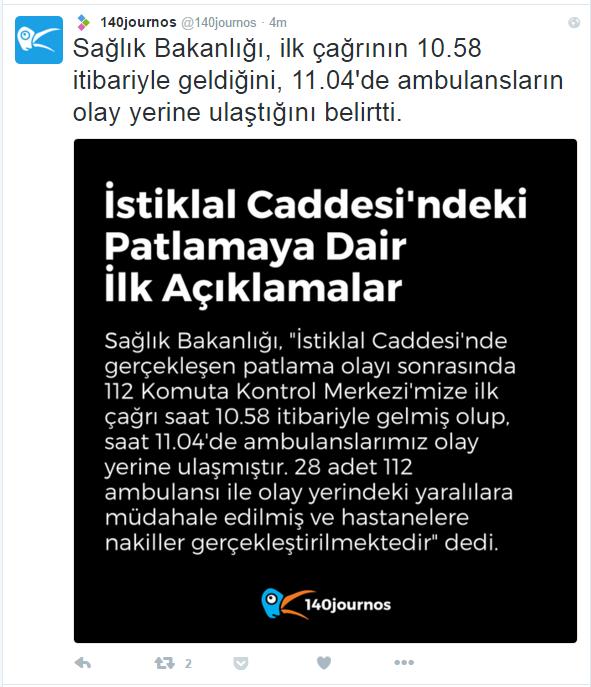 taksim patlama 2