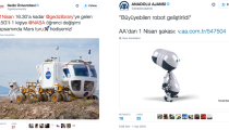 Sosyal medyada markaların 1 Nisan paylaşımları