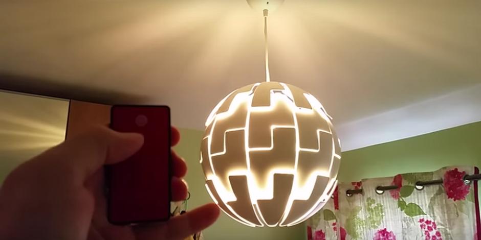 IKEA lambasını Star Wars'taki ölüm yıldızına dönüştürmek