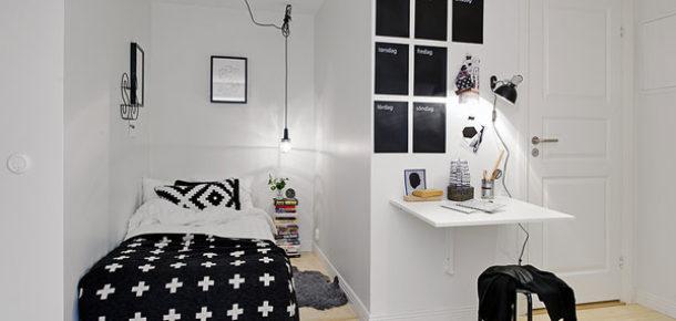 Küçük odaları daha şık hale getirmek 15 püf nokta