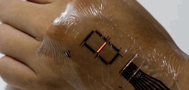 Yapay deri geleceğin akıllı saatlerin geleceğini değiştirebilir