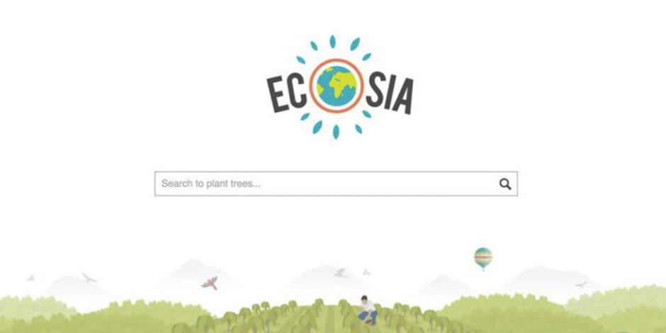 Yapılan aramalardan elde ettiği gelir ile ağaç diken arama motoru: Ecosia