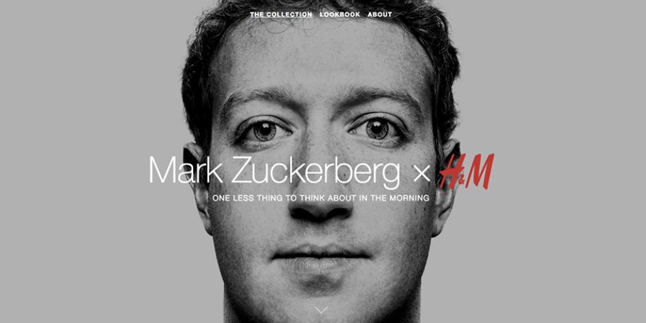 H&M ve Mark Zuckerberg'den şaka gibi bir işbirliği :)