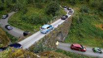 Norveç'te geçen ay trafiğe çıkan araçların üçte ikisi elektrikli veya hibrit araç