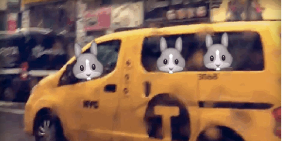 Snapchat videolarda emoji dönemi